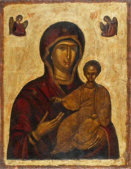 Jumalanäiti, Hodigitria - Tiennäyttäjä, bysanttilainen ikoni