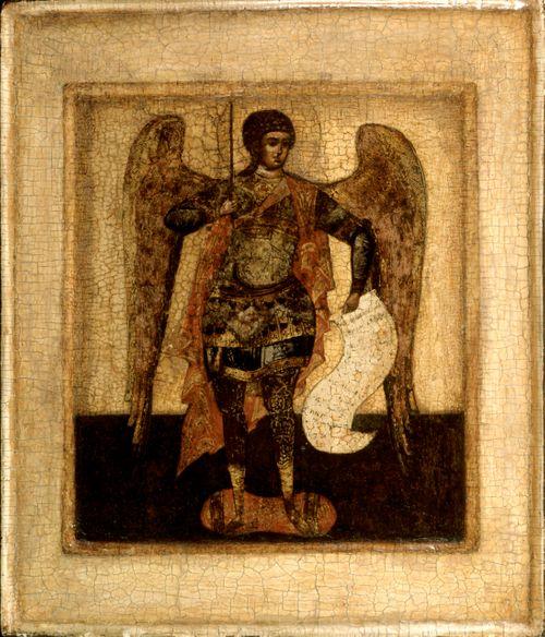 Arkkienkeli Mikael, venäläinen ikoni