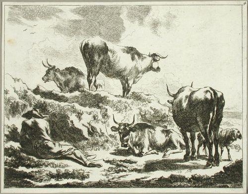 Härkäpaimen kukkulan juurella