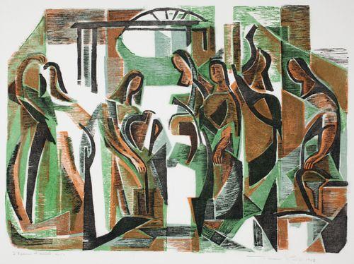 Naiset kaivolla (Ischia)