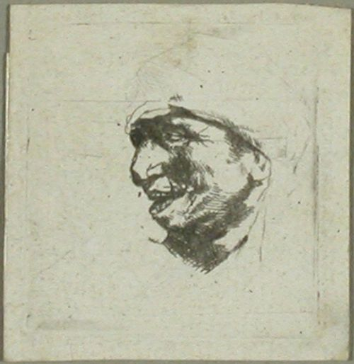 Miehen pää - keskeneräinen (Tete non achevée)