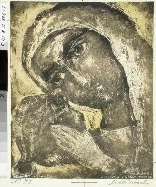 Neitsyt Maarian himokala ; Kuvitusta: Legendoja ja rukouksia