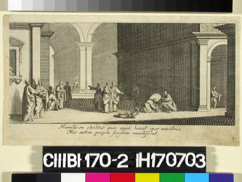 Nro 2, Jeesus pesee opetuslasten jalat