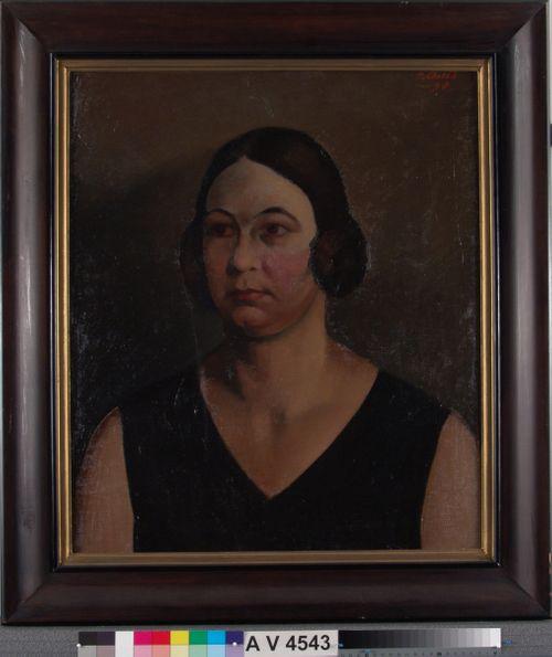 Naisen muotokuva (Rva Lönngren)