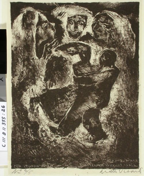 Kantelettaren kuvitusta (26) ; Likka tanssivi somasti, poika polkevi kovasti