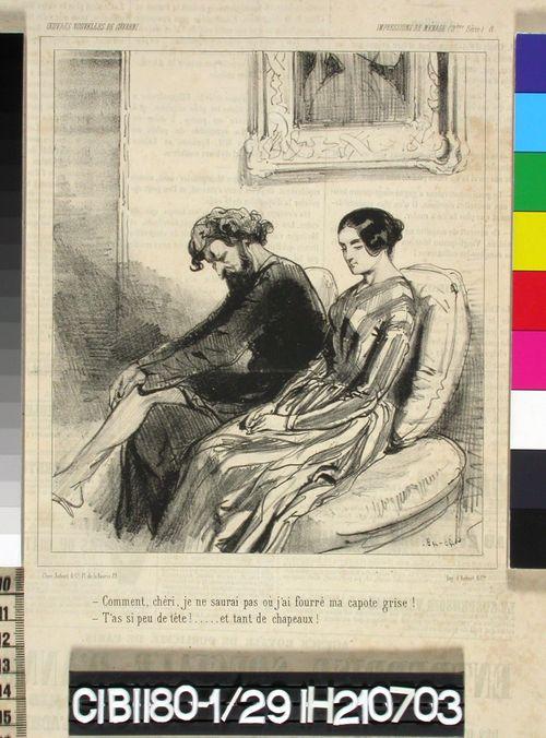 Avioelämää, nro 8 (Impressions de Ménage 8.)