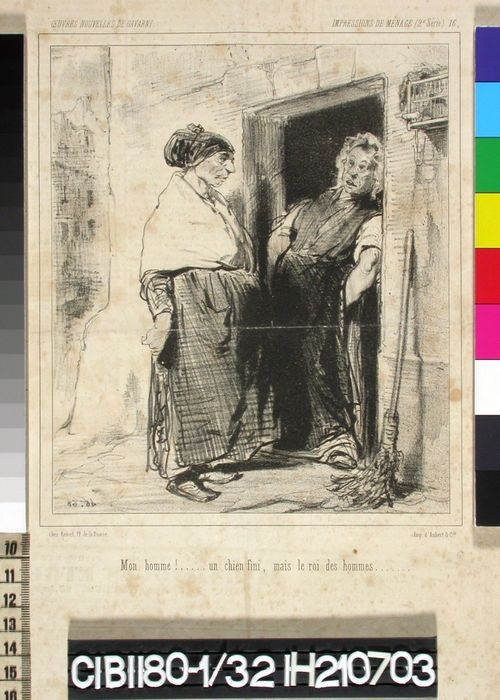 Avioelämää, 2, nro 16 (Impressions de Ménage 16.) (Charivari)