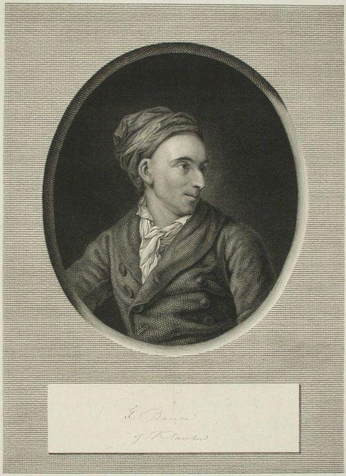 Saksalainen graafikko Johann Friedrich Bause 1738-1814
