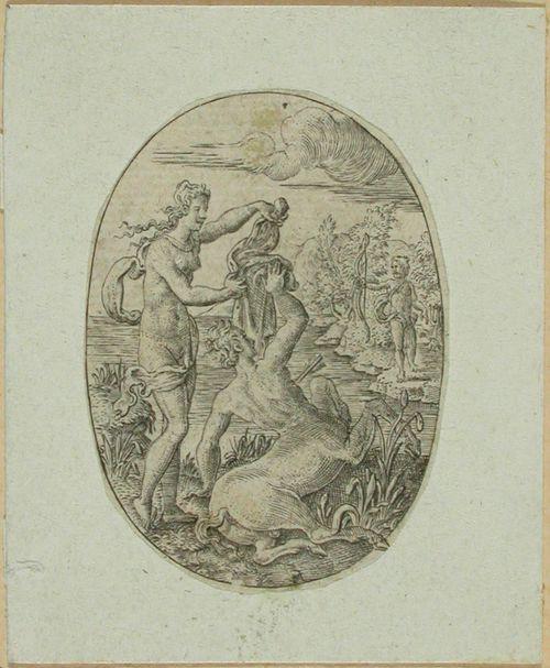 Herakles ampuu Nessoksen