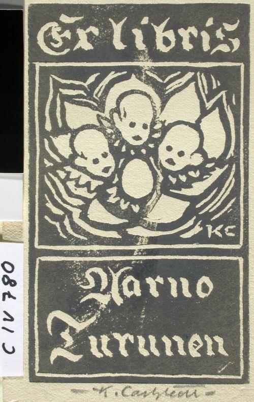 Gynekologi Aarno Turusen exlibris