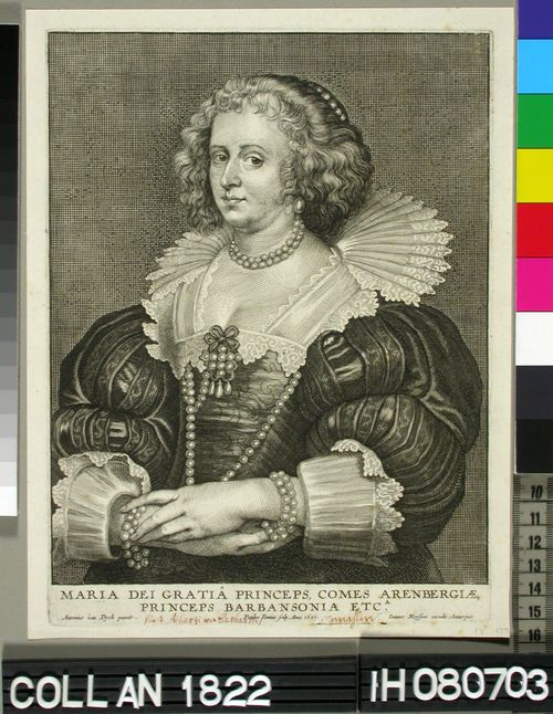 Maria, Arembergin kreivitär