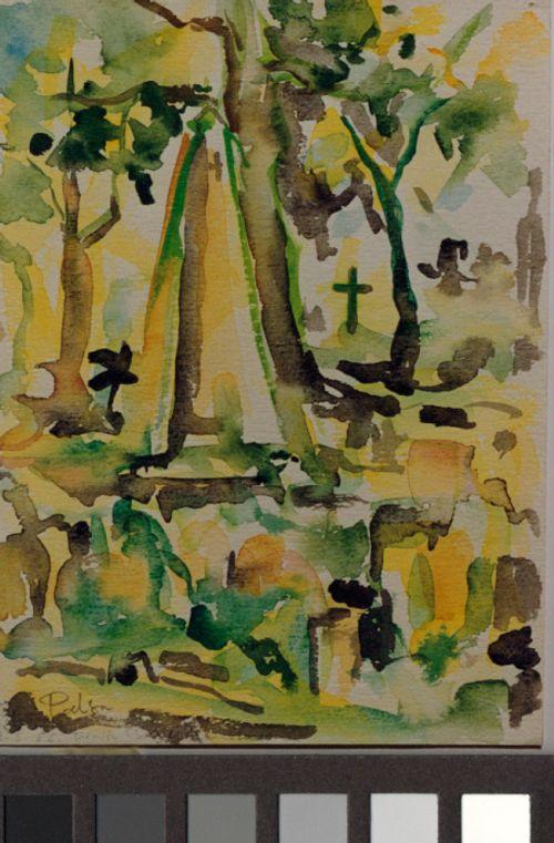 Hautausmaa (Trinity Church Cemetery)