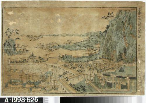 Ichinotanin taistelu. Kohtaus Genji-Heike klaanisodasta
