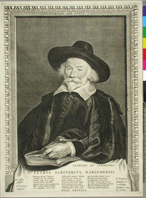 Petrus Scriverius Harlemensis