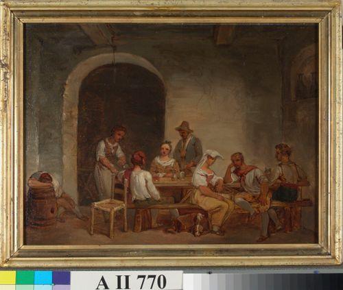 Roomalainen osteria, kopio Alexander Lauréuksen mukaan