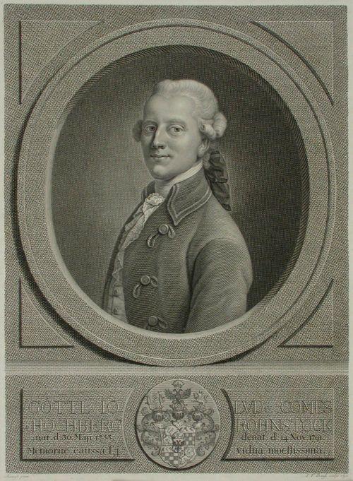 Hochberg-Rohnstockin kreivi Gottl. Johann Ludvig
