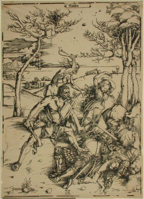 Herkules taistelee Cakuksen kanssa