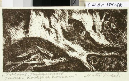 Kalevalan kuvitusta, XII runon alkuvignetti