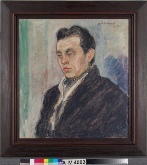 Miehen muotokuva (Yrjö Ramstedt)