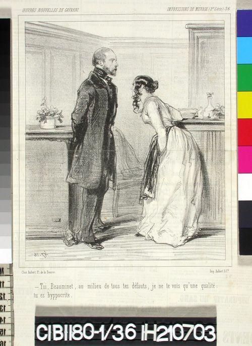 Avioelämää, nro 36 (Impressions de Ménage, 2.)