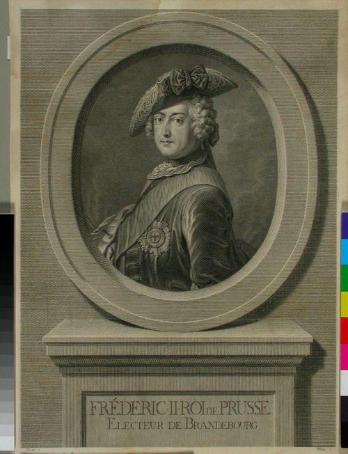 Fredrik II, Preussin kuningas