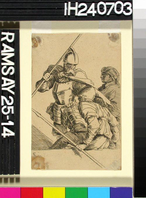 Kolmen sotilaan kohtaus