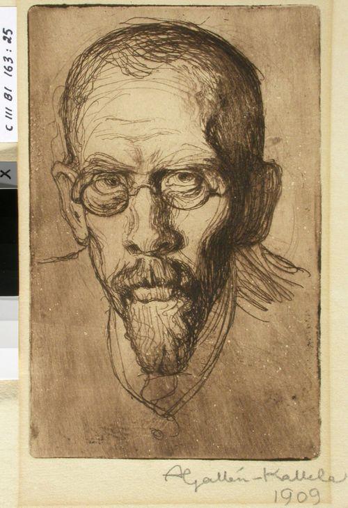 Apteekkari Filip Gallen, taiteilijan veli