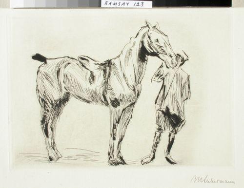 Hevonen ja ratsupalvelija