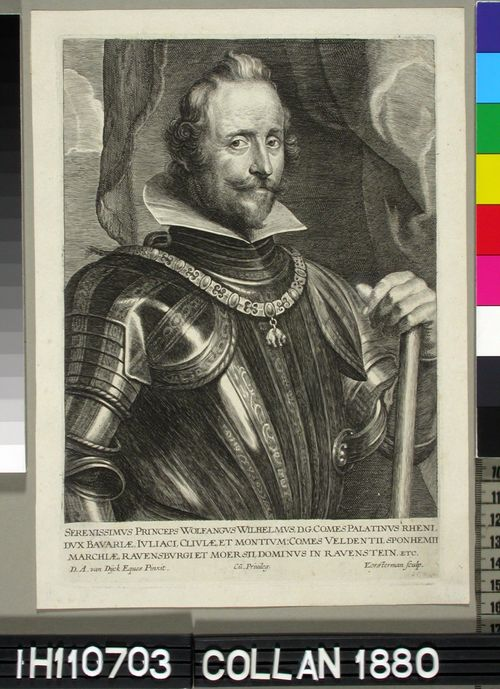 Wolfgang Wilhelm, Pfalzin kreivi
