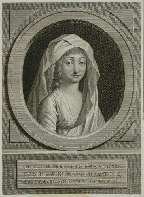 Hochberg-Rohnstockin kreivitär Charlotte Henr. Christiana Augusta