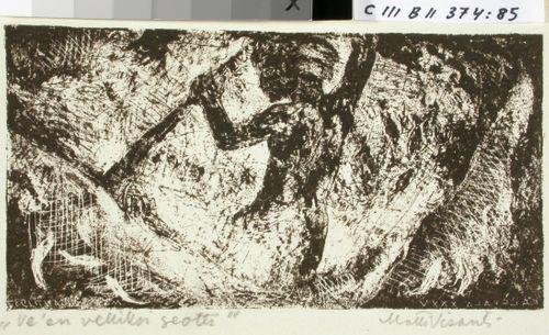 Kalevalan kuvitusta, XXXV runon alkuvignetti