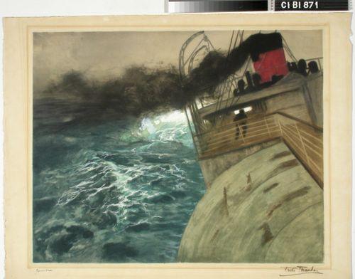 Laiva myrskyssä