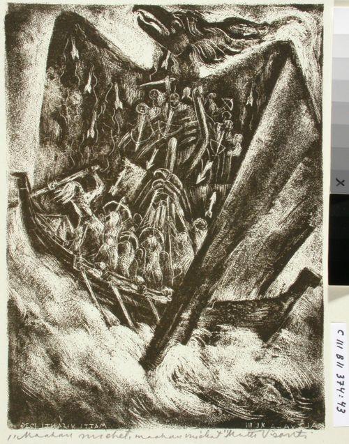 Kalevalan kuvitusta, XLIII runo