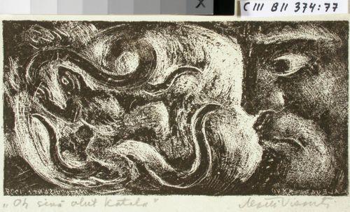 Kalevalan kuvitusta, XXVII runon alkuvignetti