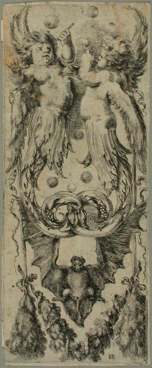 Ornamentteja ja groteskeja (11 lehteä 12:n lehden sarjasta)