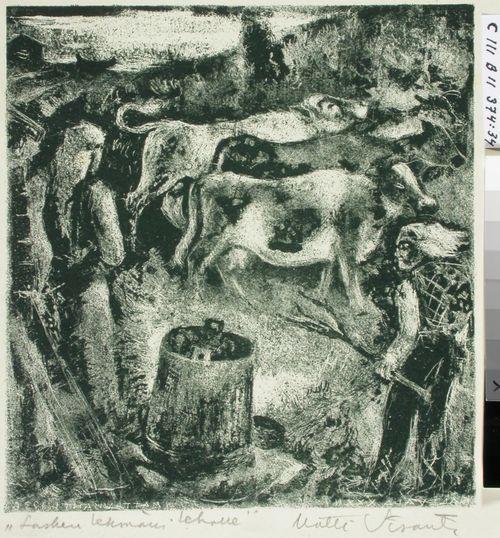 Kalevalan kuvitusta, XXXII runo