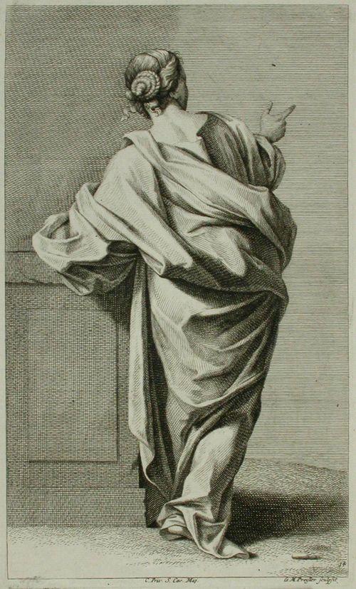 7. vaatetettuja figuureja piirustuksen opetusta varten