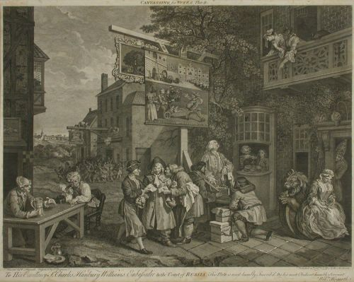 Canvassing for Members, Plate II