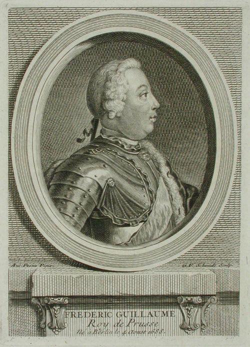 Preussin kuningas Fredric Wilhelm I