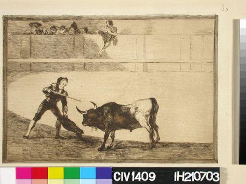 Pedro Romano tappaa seisovan härän, 30