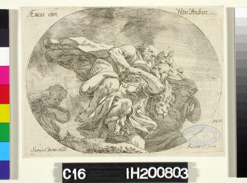 Aeneas isänsä Ankhiseen kanssa
