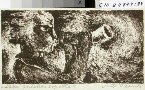 Kalevalan kuvitusta, XXXIV runon alkuvignetti