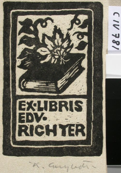 Edvard Richterin exlibris