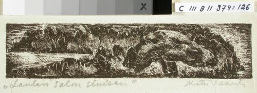 Kalevalan kuvitusta, XXV runon loppuvignetti