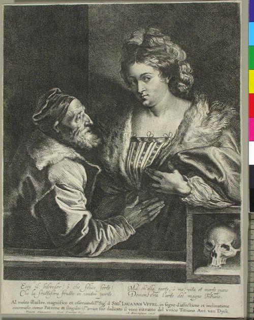 Tizian rakastajattarineen