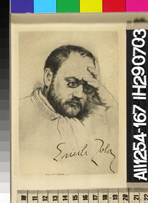 Emile Zolan muotokuva
