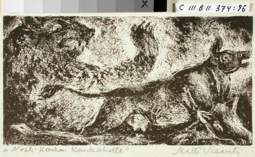 Kalevalan kuvitusta, XLVI runon alkuvignetti