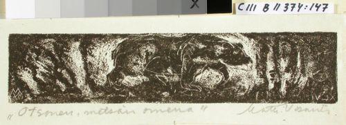 Kalevalan kuvitusta, XLVI runon loppuvignetti