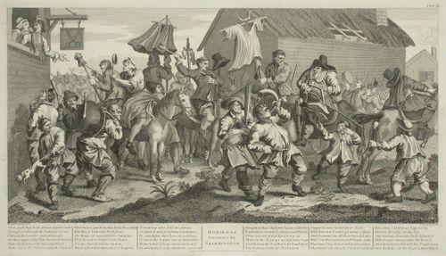 Hudibras Encounters the Skimmington Plate XII