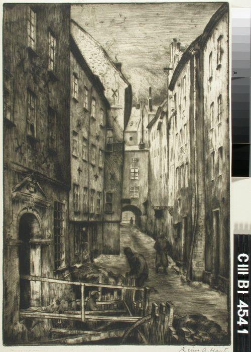 Kuja Tukholman vanhassa kaupungissa